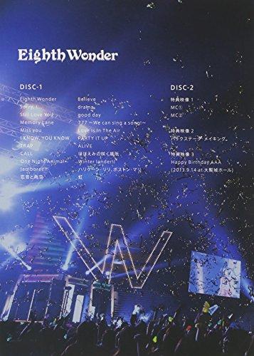 【新品】 AAA TOUR 2013 Eighth Wonder (2枚組DVD) (初回生産限定)