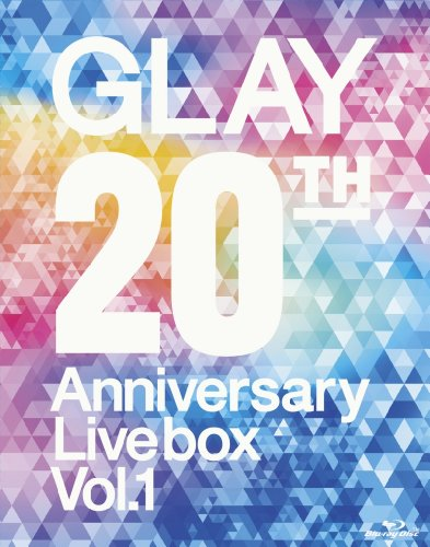 【新品】 GLAY 20th Anniversary LIVE BOX VOL.1(Blu-ray Disc)