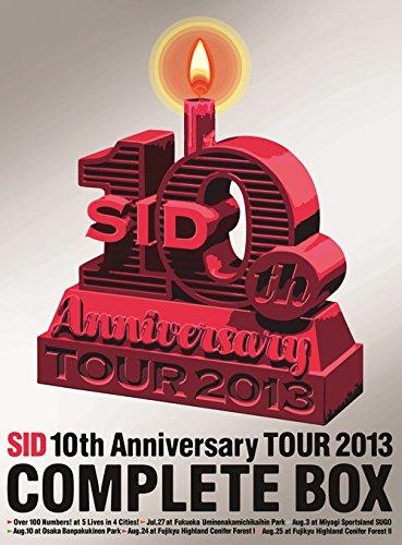 【新品】 SID 10th Anniversary TOUR 2013 COMPLETE BOX(完全生産限定盤) [DVD]