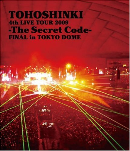 【新品】 4th LIVE TOUR 2009 ~The Secret Code~ FINAL in TOKYO DOME [Blu-ray]
