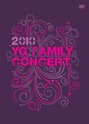 【新品】 YG FAMILY LIVE CONCERT 2010 DVD+MAKING BOOK
