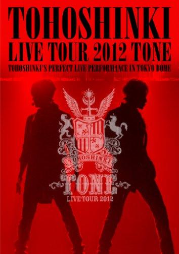 【新品】 東方神起 LIVE TOUR 2012 ~TONE~(2枚組DVD)※特典ミニポスター無