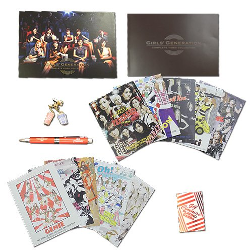 【新品】 GIRLS' GENERATION COMPLETE VIDEO COLLECTION(完全限定盤DVD)