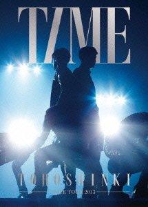 【新品】 東方神起 LIVE TOUR 2013 ~TIME~ (初回生産限定盤) (特典ポスター無) (3枚組DVD)