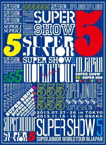 【新品】 SUPER JUNIOR WORLD TOUR SUPER SHOW5 in JAPAN (3枚組DVD) (初回生産限定盤)