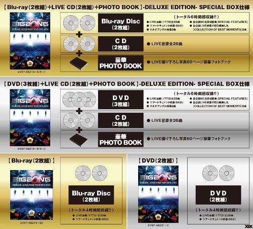【新品】 BIGBANG JAPAN DOME TOUR 2013~2014 (Blu-ray 2枚組)