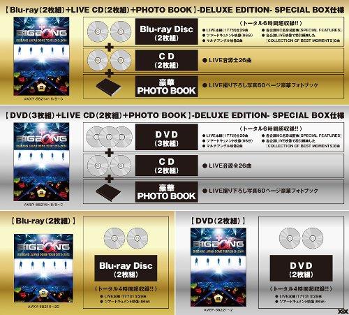 【新品】 BIGBANG JAPAN DOME TOUR 2013~2014 (DVD 3枚組+LIVE CD 2枚組 +PHOTO BOOK) (初回生産限定盤)