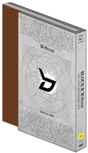 【新品】 Block B - ['B'ifferent] -Very Good Production DVD- (2DVD + フォトブック) (韓国版)(韓国盤)