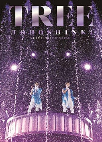 【新品】 東方神起 LIVE TOUR 2014 TREE (DVD3枚組) (初回生産限定)
