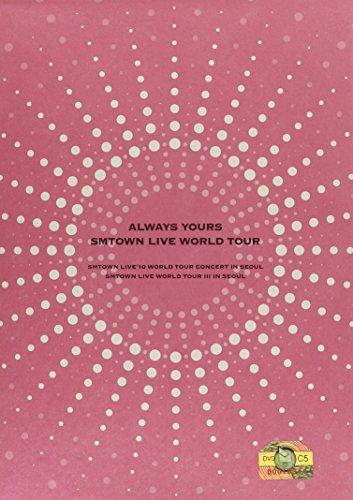 【新品】 SMTOWN Live World Tour in Seoul (5DVD + フォトブック) (韓国盤)