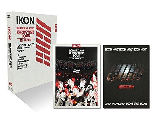 【新品】 iKONCERT 2016 SHOWTIME TOUR IN JAPAN(DVD3枚組+CD2枚組+スマプラムービー&ミュージック)