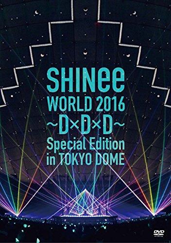 【新品】 SHINee WORLD 2016~D×D×D~ Special Edition in TOKYO DOME [DVD]
