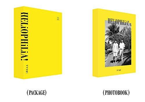【新品】 東方神起 写真集 HELiOPHiLiA! (韓国版) TVXQ (写真集+DVD+直筆の手紙+フォトカード+ポスター)