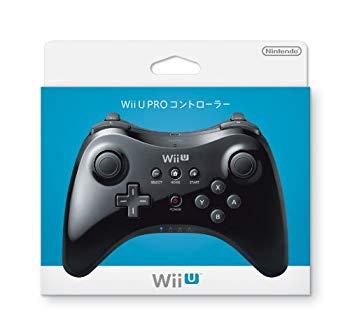 【中古】Wii U PRO コントローラー (kuro)