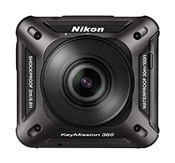 <title>中古 Nikon 防水アクションカメラ 未使用 KeyMission 360 BK ブラック</title>