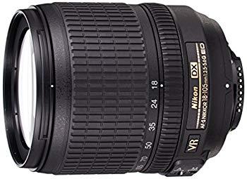 中古 Nikon 標準ズームレンズ AF-S DX NIKKOR VR 18-105mm セットアップ f 3.5-5.6G ED ニコンDXフォーマット専用 在庫一掃