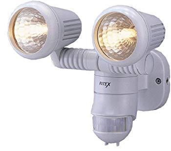 【国内発送】 【】ムサシ RITEX 防雨センサーライトM ハロゲン100W×2 M-2200, KANERIN fa6fa846