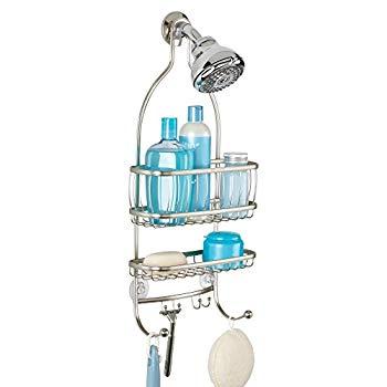 【中古】InterDesign シャワーラック 風呂 バスルーム York Lyra サテン 61975EJ