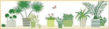 【中古】ユーパワー 植物・花 グリーン W109×H29cm