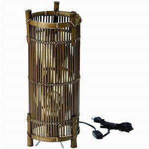 【中古】竹バスケット ランプシェード14cm 03-36LA