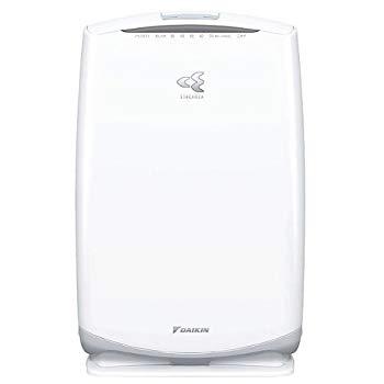 【中古】ダイキン(DAIKIN) 加湿空気清浄機「うるおい光クリエール」 バニラホワイト ACK55N-W