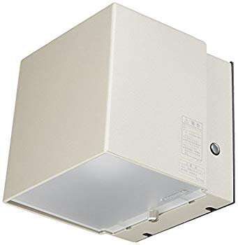 LED一体形アウトドアブラケット 121×120 照度センサー付表札灯 【中古】東芝ライテック ウォームシルバー