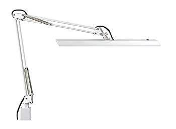 【中古】Z-LIGHT LEDデスクライト 連続調光 ホワイト 明るさ2430Lx Z-10N W