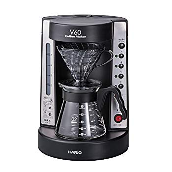 中古 ハリオ 珈琲王 コーヒーメーカー 定価の67%OFF 透明ブラック V60 いつでも送料無料 EVCM-5TB