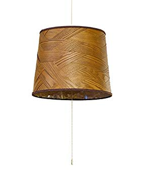 【中古】ルチェルカ 北欧風 ペンダントライト ベニー2 3灯タイプ セード:ダークブラウン 電球別売 LC10770-BR エルックス