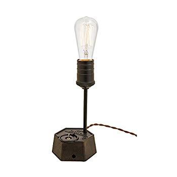 【中古】インターフォルム テーブルライト ボルクヴァルデ レトロ電球付き