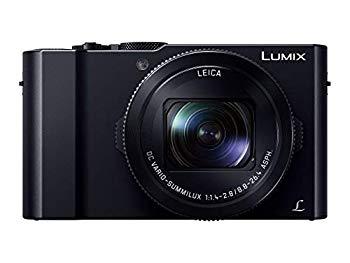 【中古】パナソニック コンパクトデジタルカメラ ルミックス LX9 1.0型センサー搭載 4K動画対応 ブラック DMC-LX9-K
