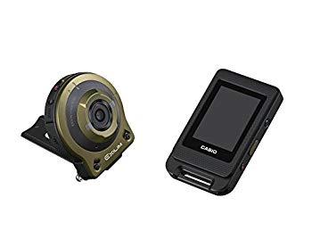 【中古】CASIO デジタルカメラ EXILIM EXFR10GN カメラ部/コントロール部分離 フリースタイルカメラ 1410万画素 EX-FR10GN グリーン