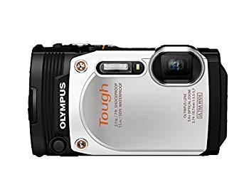 【中古】OLYMPUS デジタルカメラ STYLUS TG-860 Tough ホワイト 防水性能15m 可動式液晶モニター TG-860 WHT