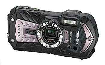 【中古】RICOH 防水デジタルカメラ RICOH WG-30W カーボングレー 防水12m耐ショック1.5m耐寒-10度 RICOH WG-30W GL 04621