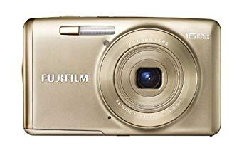 【中古】FUJIFILM デジタルカメラ FinePix JX700 光学5倍 ゴールド F FX-JX700G