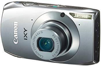 【中古】Canon デジタルカメラ IXY32シルバー IXY32S(SL) 1210万画素 光学4.4倍ズーム 3.2型ワイドタッチパネル フルHD動画
