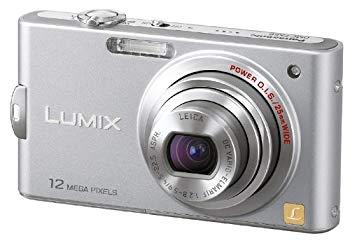 【中古】パナソニック デジタルカメラ LUMIX (ルミックス) FX60 プレシャスシルバー DMC-FX60-S