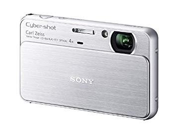 【中古】ソニー SONY デジタルカメラ Cybershot T99 (1410万画素CCD/光学x4/デジタルx8) シルバー DSC-T99/S