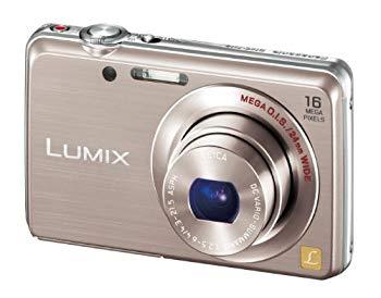 【中古】パナソニック デジタルカメラ ルミックス FH8 光学5倍 ピンクゴールド DMC-FH8-N