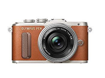 【中古】OLYMPUS ミラーレス一眼 E-PL8 レンズキット ブラウン