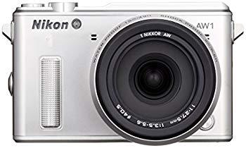 【中古】Nikon ミラーレス一眼カメラ Nikon1 AW1 防水ズームレンズキット シルバー N1AW1LKSL