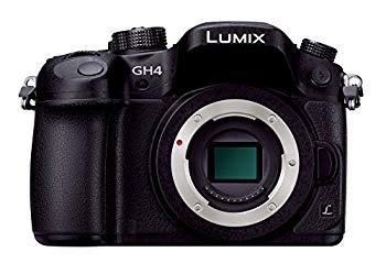 中古 パナソニック ミラーレス一眼カメラ ルミックス 正規品 DMC-GH4-K GH4 ブラック [再販ご予約限定送料無料] ボディ