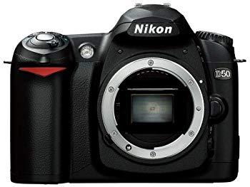 中古 Nikon D50 高額売筋 ボディ 安心の定価販売 ブラック