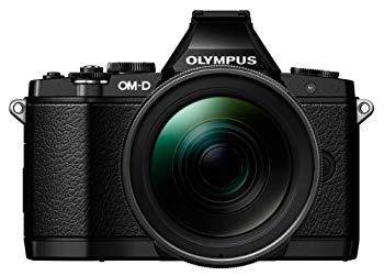 【中古】OLYMPUS ミラーレス一眼 OM-D E-M5 ED 12-40mm F2.8 PRO レンズキット エリートブラック LKIT EBLK