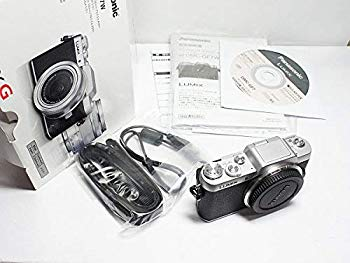 中古 Panasonic 正規激安 ミラーレス一眼カメラ DMC-GF7 ボディ単体 ブラック×シルバー セットアップ