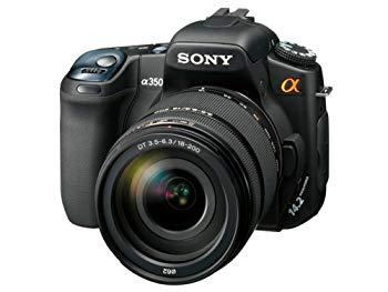 【中古】ソニー SONY デジタル一眼レフカメラHズームレンズキット α350 高倍率ズームキット DSLR-A350H