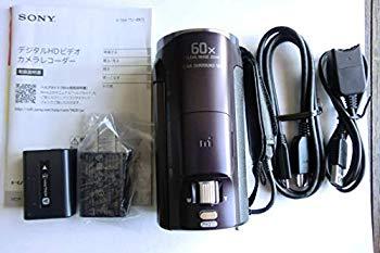 【中古】SONY HDビデオカメラ Handycam HDR-CX670 ボルドーブラウン 光学30倍 HDR-CX670-T