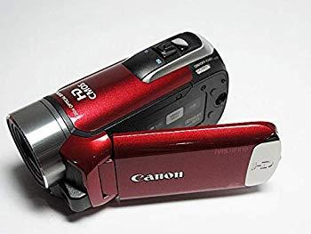 【中古】Canon フルハイビジョンビデオカメラ iVIS HF R10 レッド IVISHFR10RD (内蔵メモリ8GB)