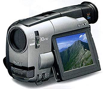 【中古】ソニー CCD-TRV91 8mmビデオカメラ (8mmビデオデッキ) VideoHi8 / Video8 ハンディカム