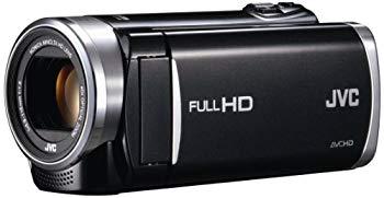 【中古】JVCKENWOOD JVC ビデオカメラ EVERIO GZ-E265 内蔵メモリー 32GB クリアブラック GZ-E265-B